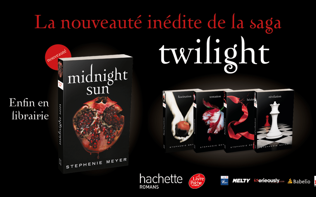 Sortie de Midnight Sun, le tome 5 de Twilight
