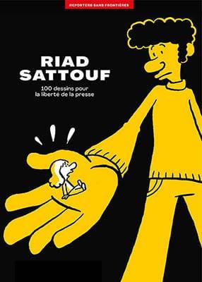 Couverture album RSF Riad Sattouf - novembre 2020