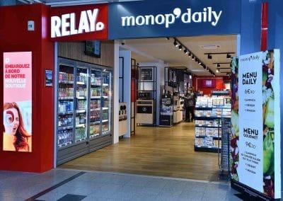 Relay Monopdaily - Aéroport de Nantes