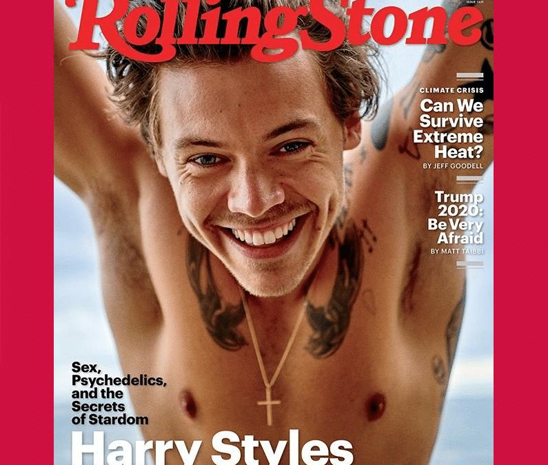 Où se procurer Rolling Stone US (Harry Styles) de septembre ?